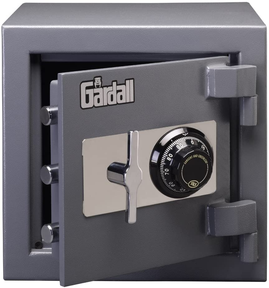 Gardall LC1414-G-C w Commercial Light Duty Safe with Mechanical Combination Lock, Grey