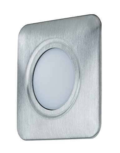 Paulmann 937.44 montaje y - Accesorio de iluminación (Embellecedor embutido, Acero inoxidable, Acero