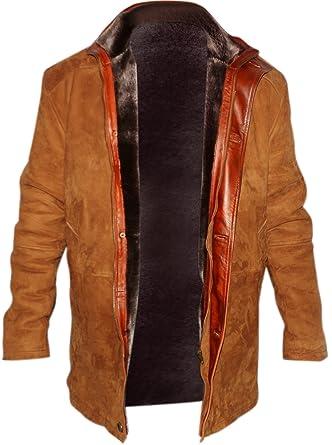 dcdc3e575 Sheriff Walt Longmire Robert Taylor Real Suede Leather Coat