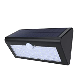 Websun solar powered motion sensor outdoor light 48 led outdoor websun solar powered motion sensor outdoor light 48 led outdoor wall lights 3 intelligent modes wireless mozeypictures Gallery