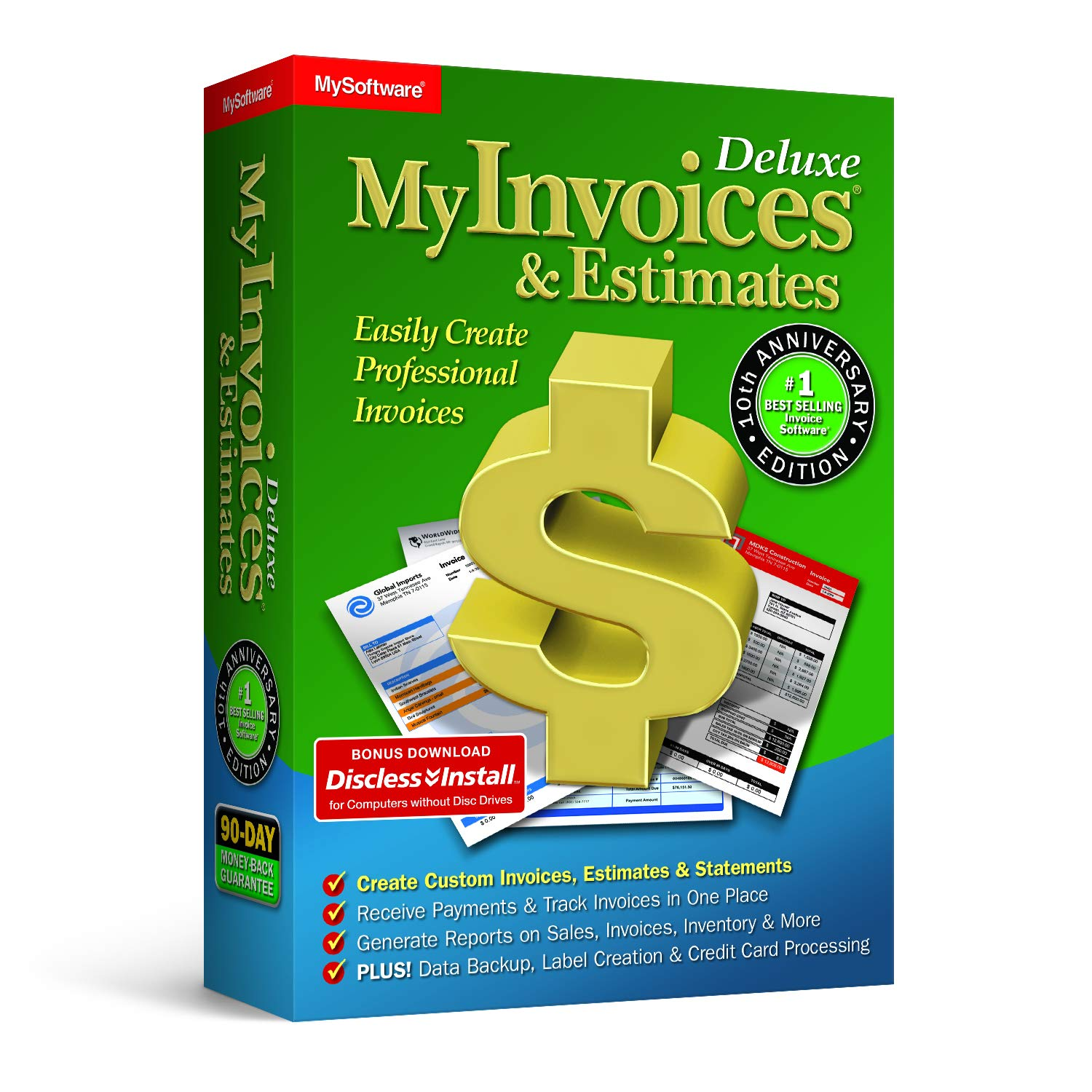 MyInvoices & Estimates Deluxe by Avanquest