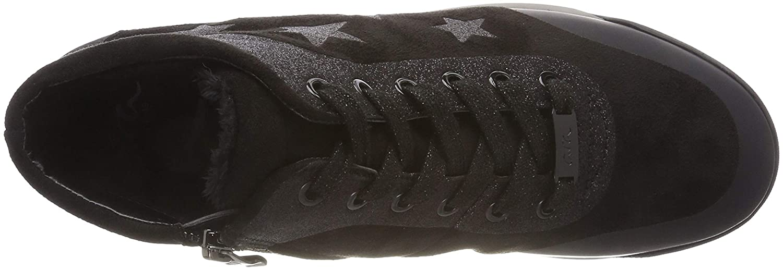 Ara Hohe Damen Rom Hohe Ara Sneaker, Schwarz (Schwarz 61) 0a8604