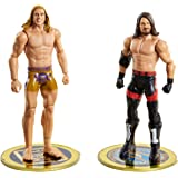 WWE AJ Styles vs Riddle, Championship Showdown 2-Pack, 6-in Action Figures High Flyers, Battle Pack for Ages 6 Years Old and