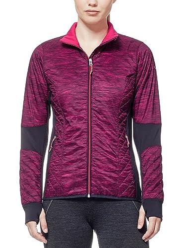 97e19f68b18 Sports & Outdoors Action Sports Icebreaker Merino Womens Helix Fraser Peaks  Long Sleeve Zip Jacket