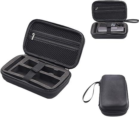 RC GearPro para dji Osmo Pocket Cámara portátil de Gimbal Estuche portátil, Bolsa de Almacenamiento portátil para Accesorios de Bolsillo Osmo: Amazon.es: Electrónica