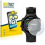 BROTECT für Garmin Forerunner 735XT Schutzfolie [2er Pack] - klare Displayschutzfolie, Crystal-Clear