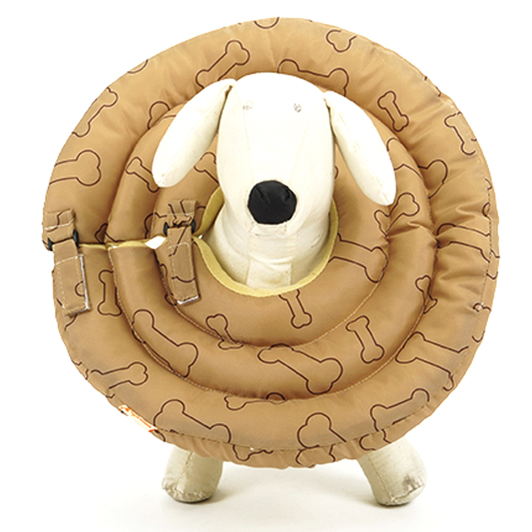 Alfie Pet by Petoga Couture - Rio Recovery Collar (for Dogs and Cats) - Color: Brown
