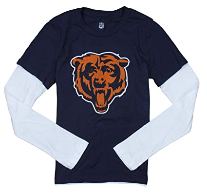 Amazon.com   Outerstuff Chicago Bears Primary Logo NFL Youth Girls ... b975876de