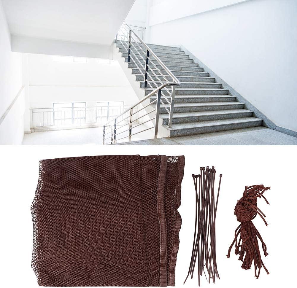 3M, blanc Escaliers de s/écurit/é Mesh-3 m/ètres Balcon Filet de s/écurit/é pour enfants