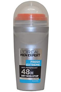 L Oral Paris Men Expert Deodorant Roll On Fresh Extreme (50ml) Deodorants & Antiperspirants at amazon