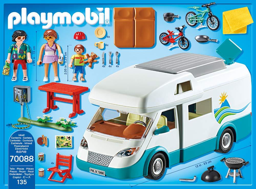 Playmobil 70088 Family Fun Familias de Caravana: Amazon.es: Juguetes y juegos