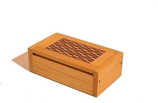 Beautiful marquetería caja de madera hecha a mano.: Amazon.es: Hogar