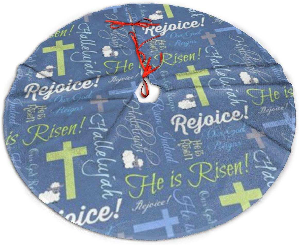 Amazon GUIYTQ5R Christian He is Risen Christmas Tree