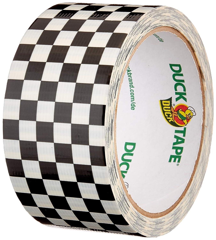 Ducktape 104214 Cinta Adhesiva de Tela, 48 mm x 10 m, Blanco y Negro: Amazon.es: Industria, empresas y ciencia