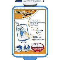 BIC 841360 tablica suchościeralna z pisakiem i gumką, 26 x 19