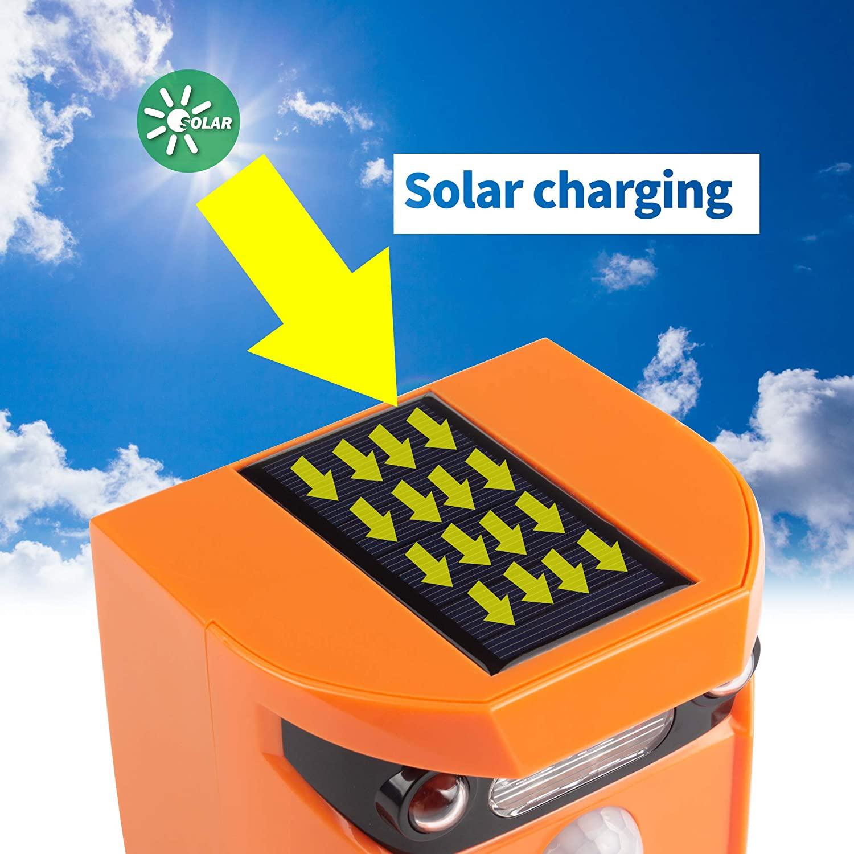 Thanos Solar Power Ultrasonic Animal Repellent