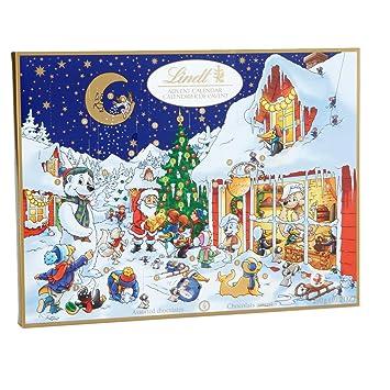 Amazon.com : Lindt Chocolate Holiday Advent Calendar, 10.2 oz ...