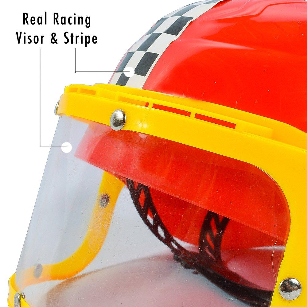 Costume Racing Helmet Driver Funny Image 3