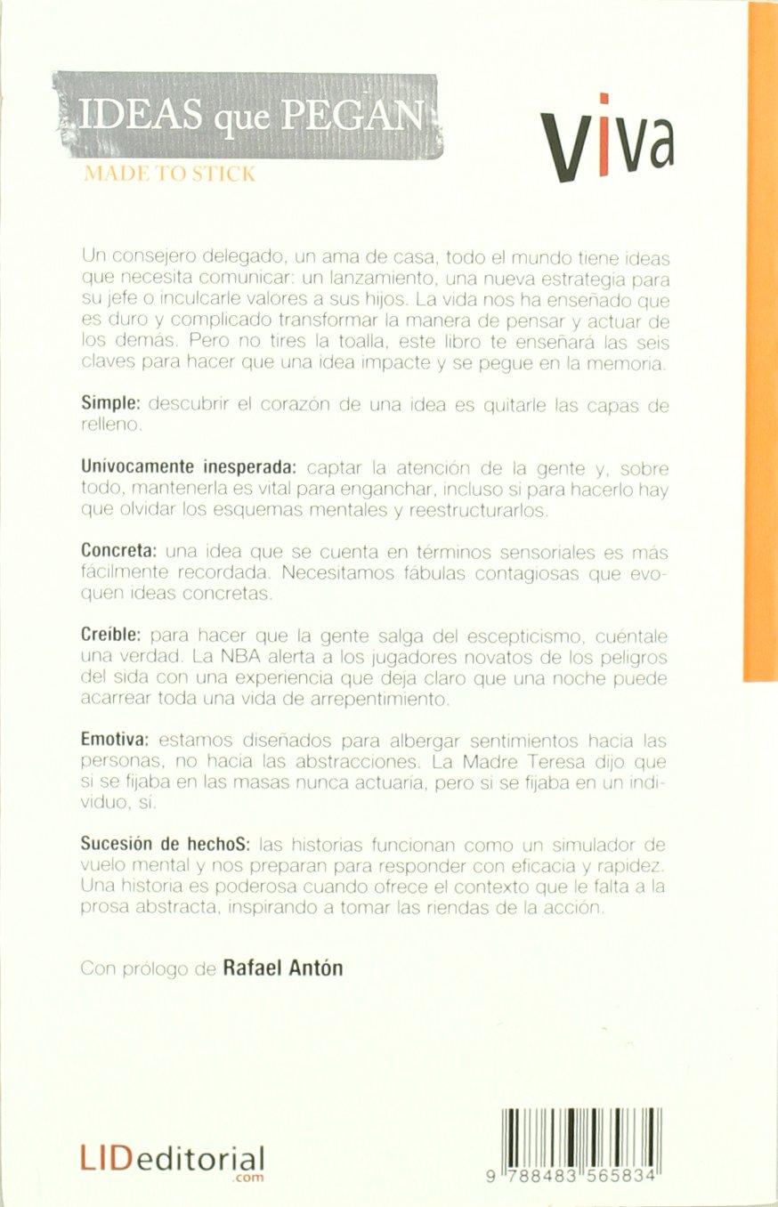 Ideas Que Pegan Made To Stick Viva Spanish Edition Chip - Que es us zip code