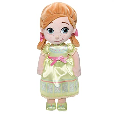 Disney Animators' Collection Anna Plush Doll – Small – 12 Inch: Toys & Games