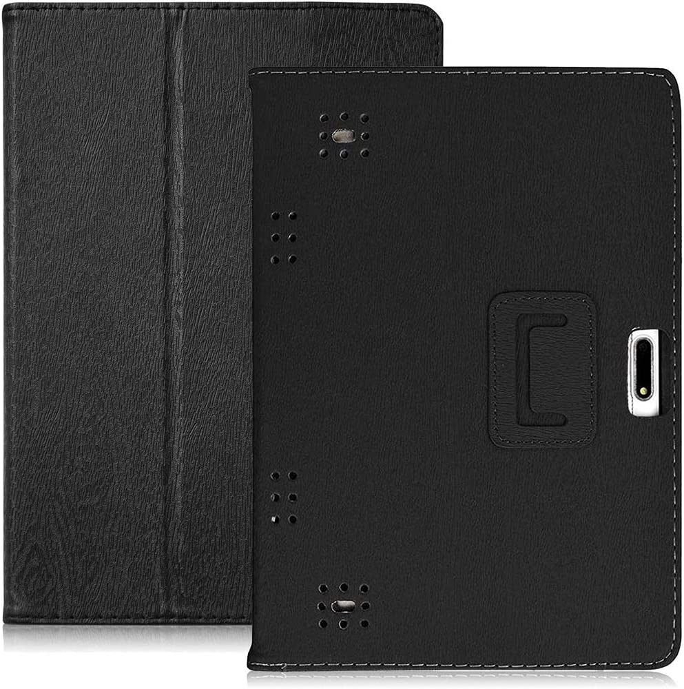 YELLYOUTH 10.1 inch Android Tablet Case (Black)