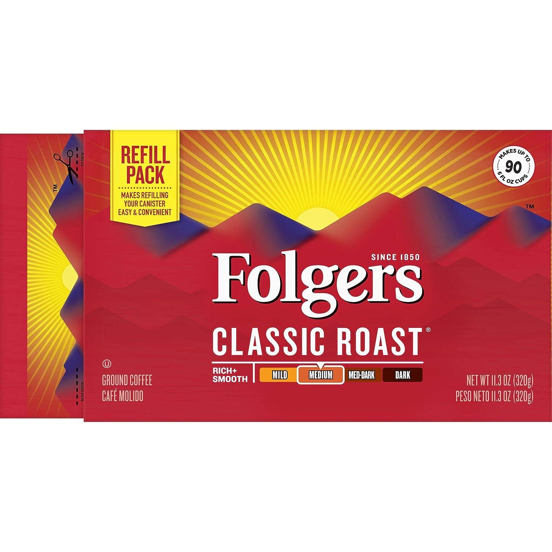 Folgers 100% Colombiano, de café molido ladrillo: Amazon.com ...