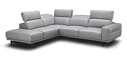 Amazoncom J And M Furniture 17981 Lhfc Davenport Lhf Chaise