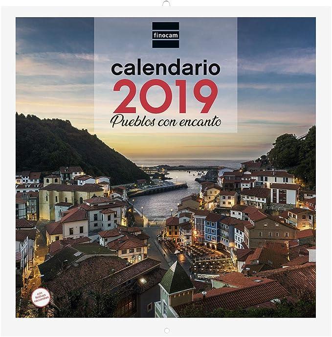 Finocam 780303319 - Calendario de pared 2019: Amazon.es: Oficina y ...