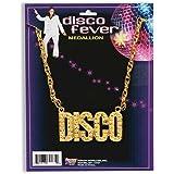 NEW DISCO NECKLACE 70S STAURDAY NIGHT FEVER FANCY DRESS
