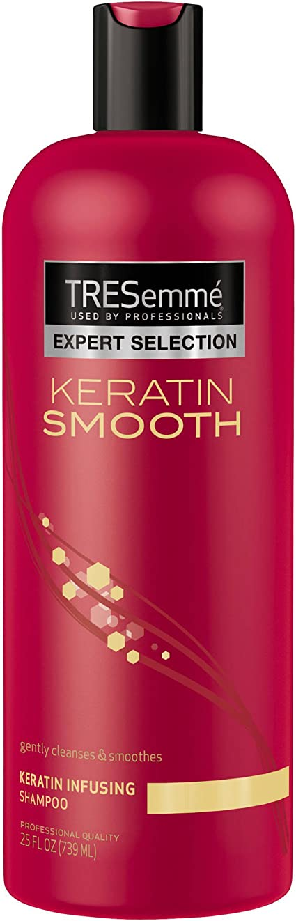 Tresemme Shampoo, Keratin Smooth 25 Oz (Pack of 2) By Tresemme ...