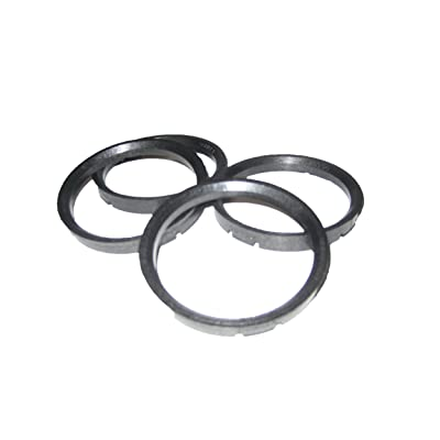 Gorilla Automotive 73-5710 Wheel Hub Centric Rings (73mm OD x 57.10mm ID) - Pack of 4: Automotive