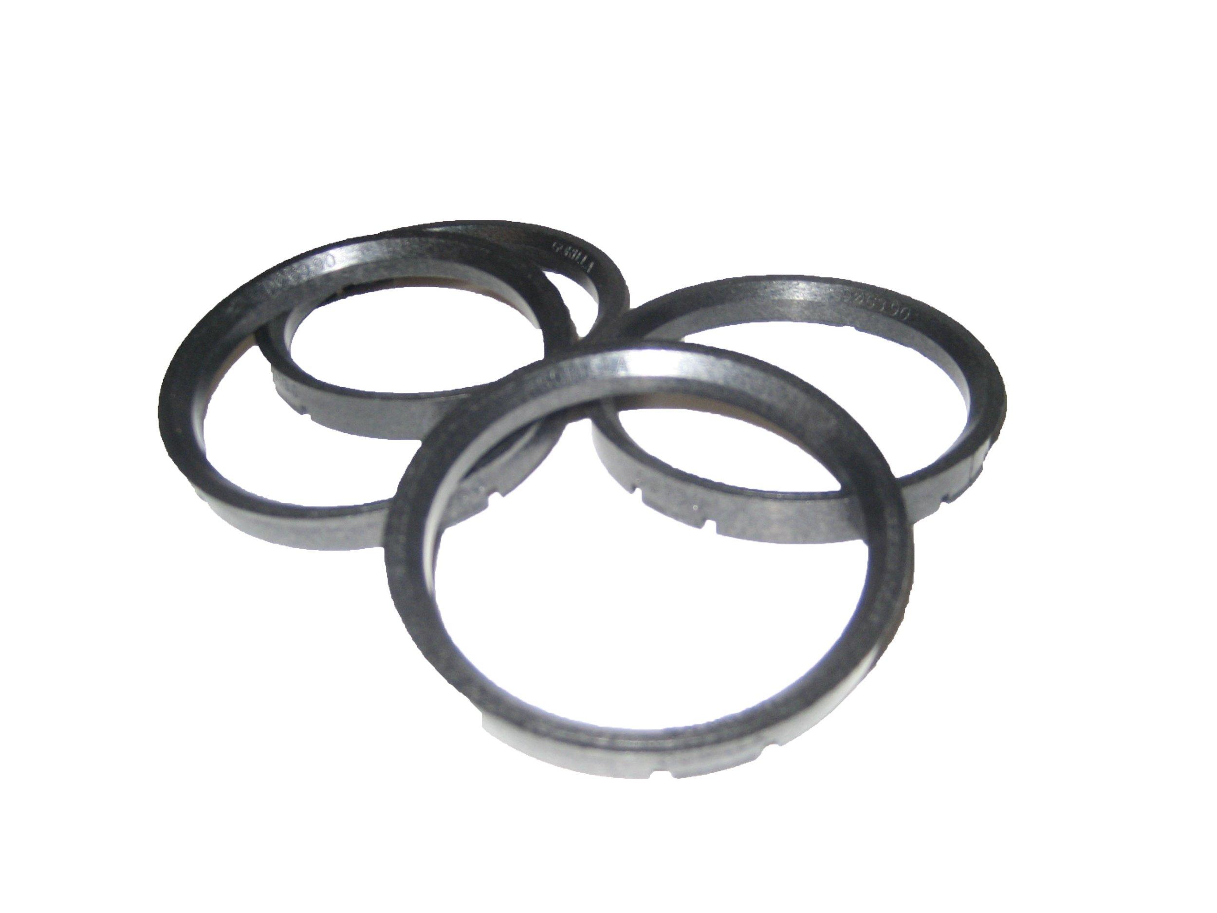 Gorilla Automotive 73-6006 Wheel Hub Centric Rings (73mm OD x 60.06mm ID) - Pack of 4