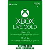 Xbox Live Gold: 12 Month Membership - [Digital Code]