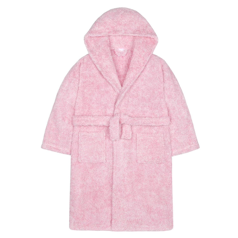 Lora Dora Girls Fleece Hooded Dressing Gown Older Teens Shoe Directory 11281