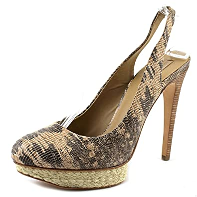 BCBG Max Azria Womens Folley Dress Shoes Tan Size 95