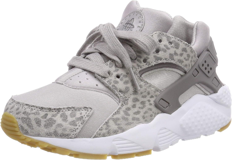 Nike Huarache Run Se (GS), Zapatillas de Gimnasia para Niñas, Gris ...