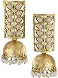 Shining Diva Traditional Pearl Jewellery Stylish Fancy Party Wear Jhumki / Jhumka Earrings For Women and Girls