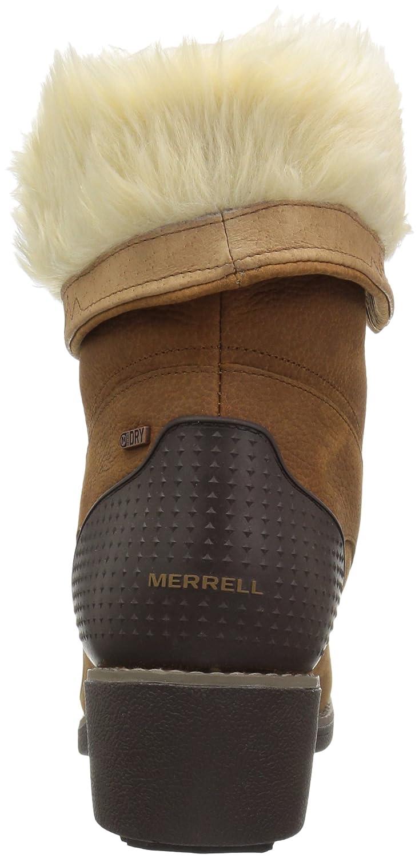 Merrell Women's Chateau Mid Lace B01MU14WEQ Polar Waterproof Snow Boot B01MU14WEQ Lace 10 B(M) US|Merrell Oak 9d94d0