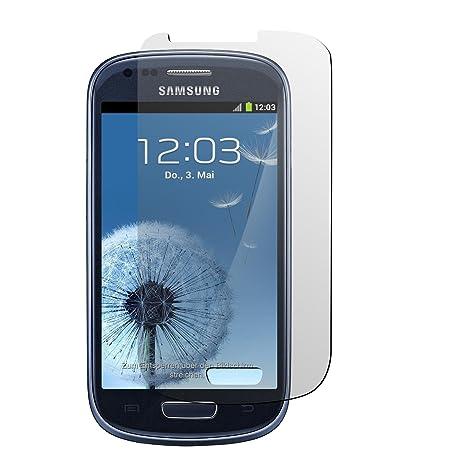 55758a3679a PhoneNatic 2 x protector de pantalla claro para Samsung Galaxy S3 Mini  Películas Protectoras
