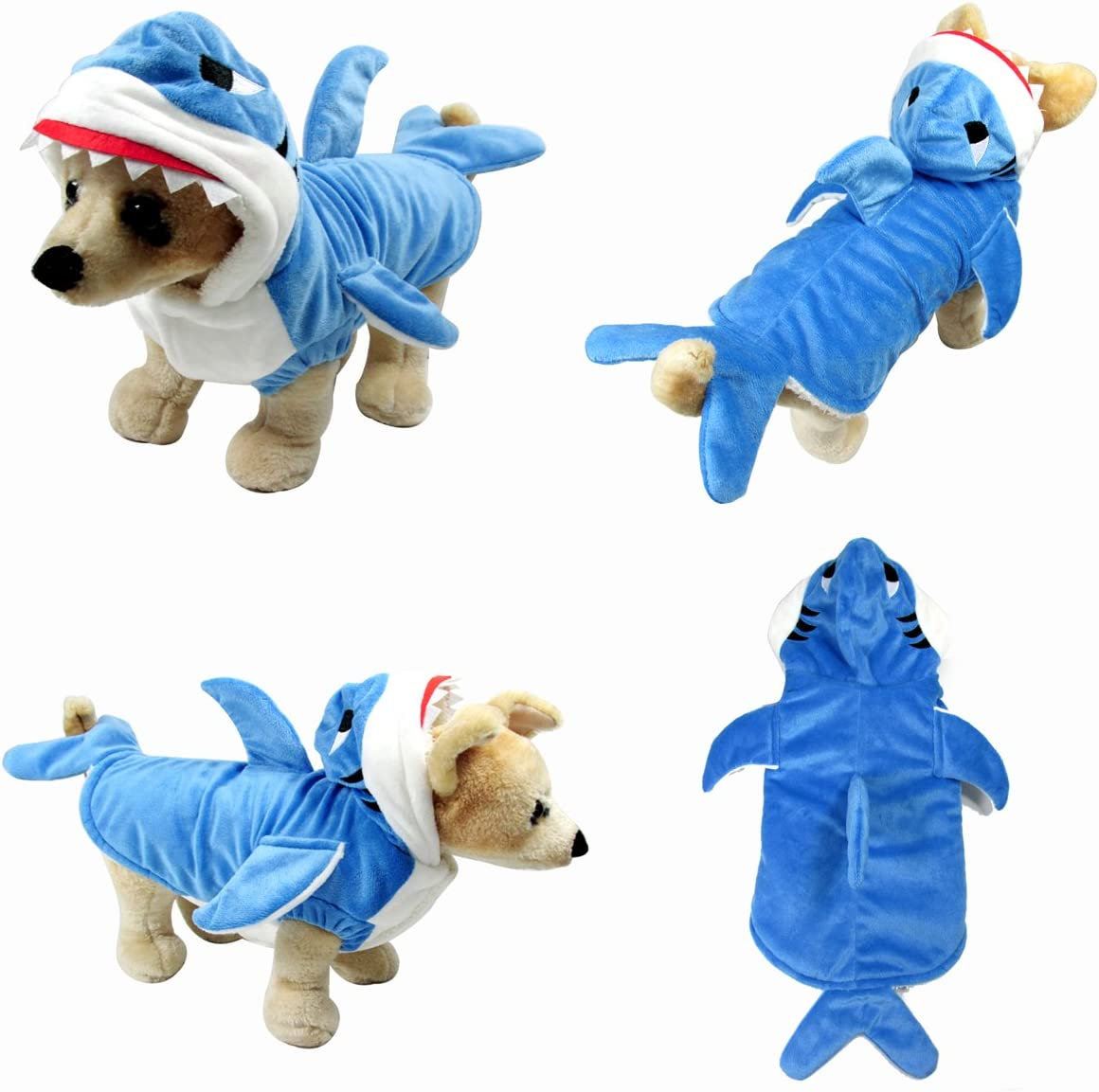 Yoption Puppy Dog Pet Halloween Costume Outwear Coat Apparel Hoodie
