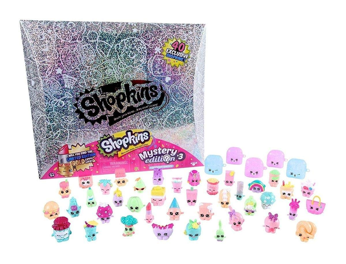 Shopkins Mystery Edition 3.0 Silver Box Set (Limited Edition)   B01MG9APNP