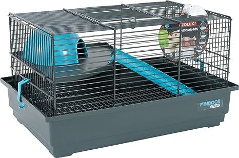 ZOLUX Indoor Jaula para ratón/hámster para pequeño Animal Azul 40 ...