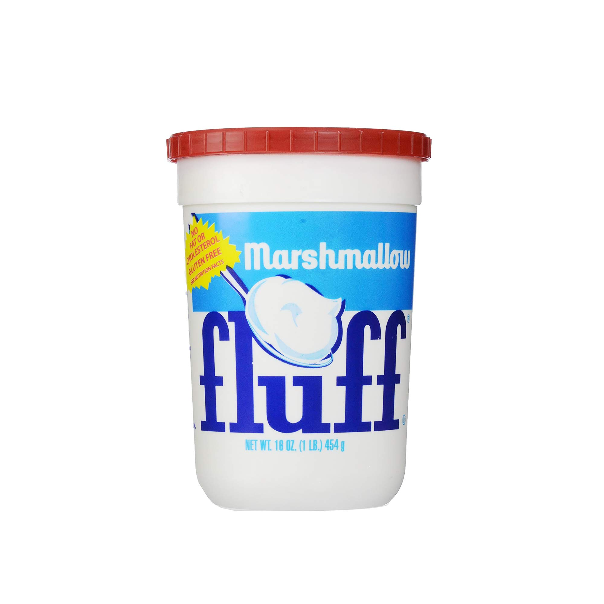 Marshmallow Fluff - Vegetarian Marshmallows - Gluten-Free - Great for Cakes, Smores and as Kids' Treats, 454 g