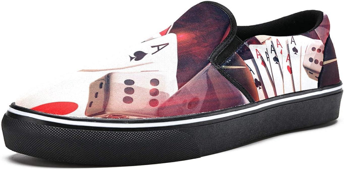 Zapatillas de deporte para mujer Poker Craps Slot Machine y ...