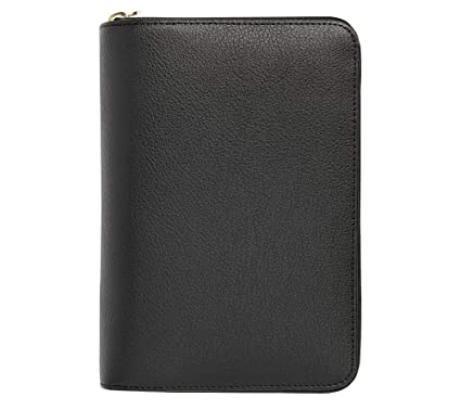 Amazon.com : kikki.K Leather Personal Zippered Planner ...