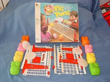 Juego de Mesa Pig Pong: Amazon.es: Juguetes y juegos