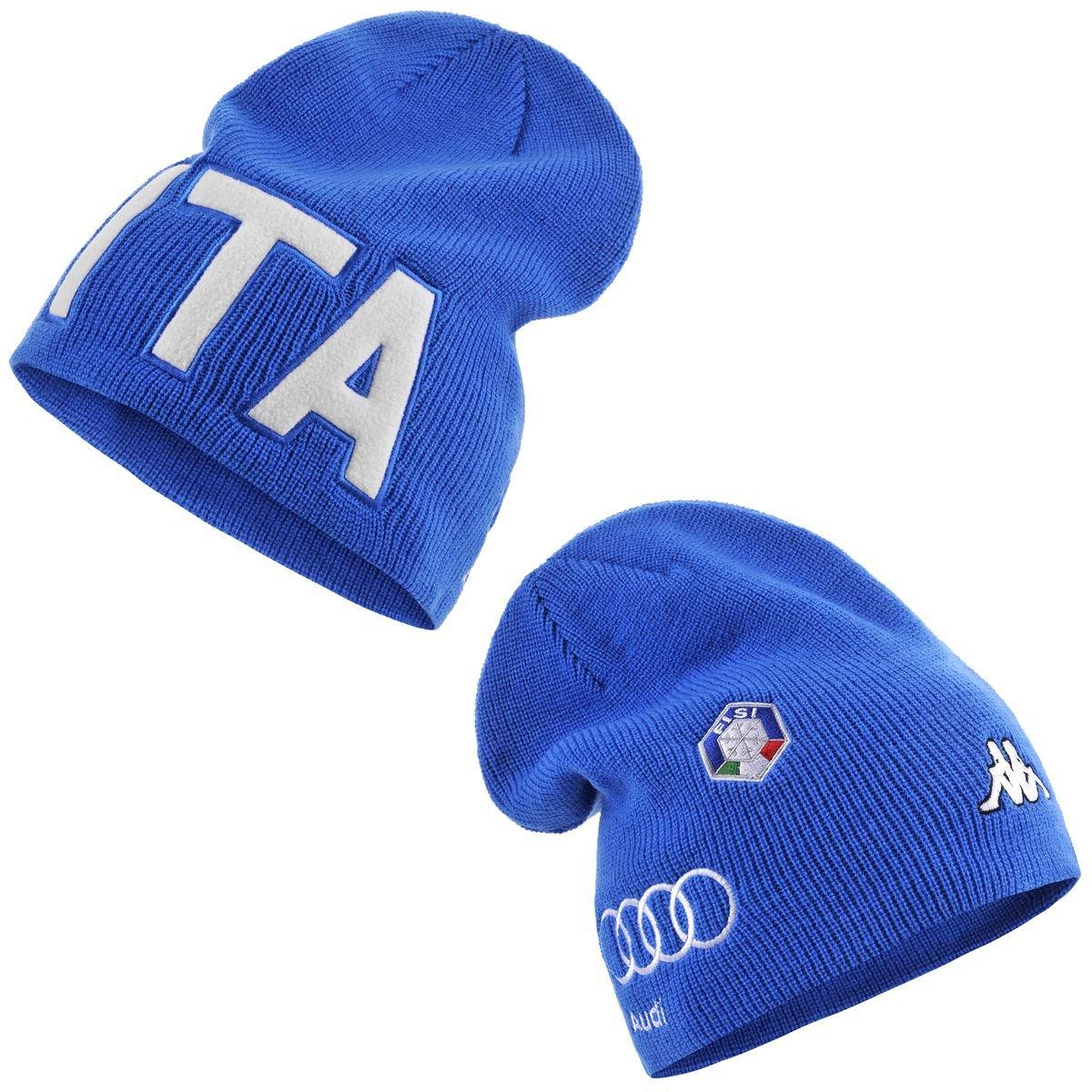 codici promozionali foto ufficiali sporco Kappa 6cento Spike FISI cappello lana azzurro unisex-5: Amazon.co ...