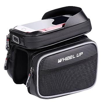 Amazon.com: MF-HOME Bolsa para marco de bicicleta, bolsa de ...
