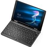 ONE-NETBOOK OneMix3 Pro ミニパソコン 英語配列キーボード搭載 ( Intel Core i5-10210Y / 16GB RAM + 512GB PCIe SSD / Windows10 / 8.4インチ 2560*1600 10点マルチタッチパネル / 360度YOGAモード / 4096段階の筆圧に対応 / バックライト付きキーボード ) ブラック