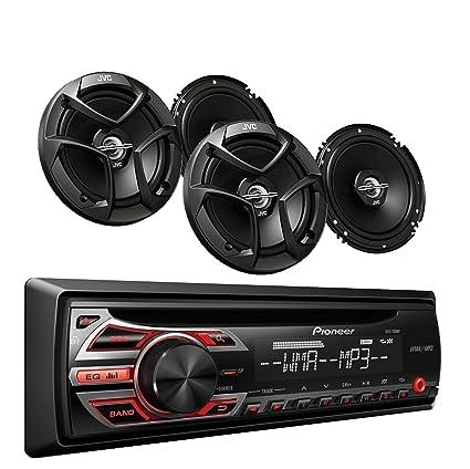 Amazoncom Pioneer DEH150MP Car Audio CD MP3 Stereo Radio Player